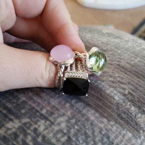 Bundel of David yurman rings